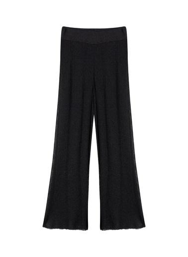 Ipekyol Yüksek Bel Pilisoley Pantolon Siyah
